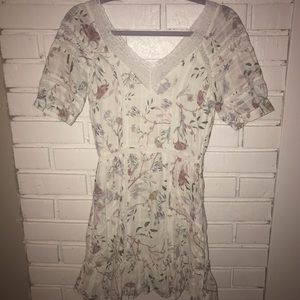 H&M floral girly dress